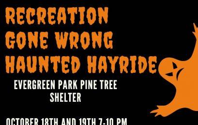Haunted Hayride at Evergreen Park