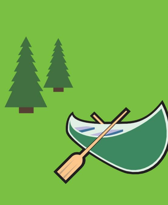 Canoe for $2 at Evergreen Park  – September 30
