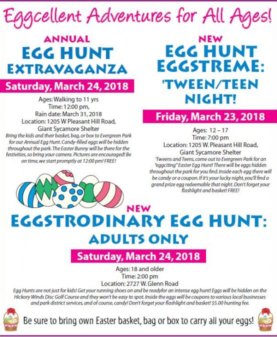 Egg Hunt Eggstreme for 'Tweens and Teens