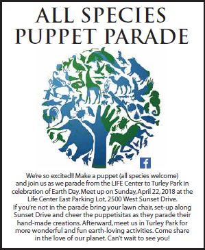 All-Species Puppet Parade