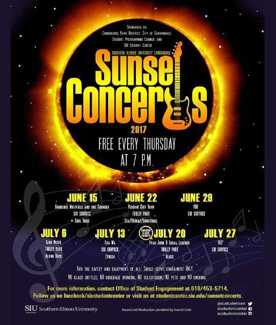 Sunset Concert @ Shryock-July 27