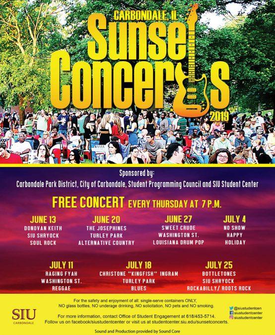 Sunset Concert @ SIU Shryock July 25